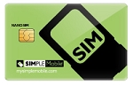 Simple Mobile Nano SIM Card /1 Month Service