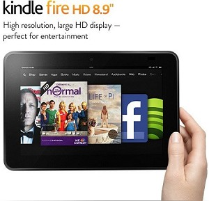 HD 8 Fire Tablet with Google Play
