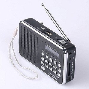 New Accessible MP3 Player with AM/FM Radio!